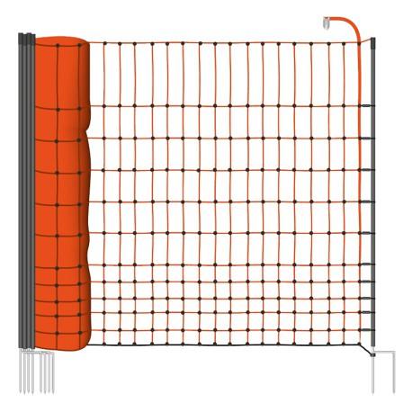 Síť pro drůbež 112cm x 50m, 16 tyčí