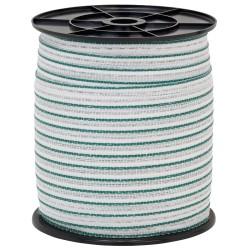 Páska 20 mm, měď + nerez, 200 m, zelená