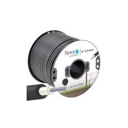 Kabel 1m vysokonapěťový 1,6mm, ocelový, do 20kV
